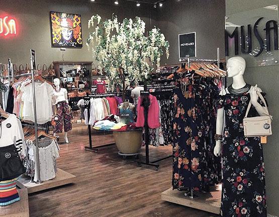 Lojas Musa – Moda Feminina e Acessórios - Lojas de roupas femininas, bolsas, bijoux e acessórios.